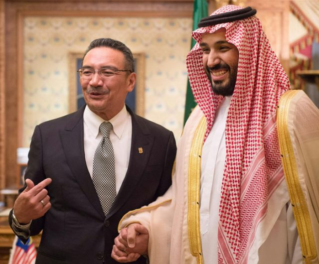 Saudi Deputy Crown Prince Discusses Defense Cooperation with Malaysian Minister
