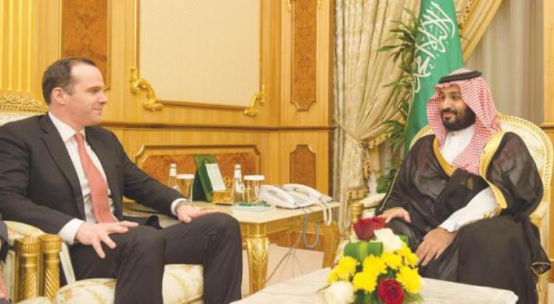 Saudi Deputy Crown Prince Receives U.S. Special Presidential Envoy