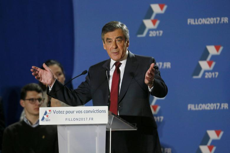 Poll's Show France's Fillon Will Easily Beat Far-Right's Le Pen