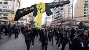 The UAE listed Hezbollah, which is widely considered to be an Iranian proxy, as a terrorist organization in February (Reuters)