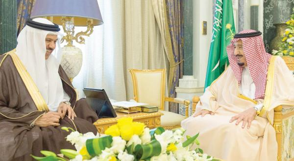 King Salman Briefed on Gulf Issues