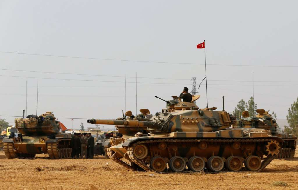 Airstrike on Turkish Soldiers in Northern Syria on 1st Anniversary of Downing of Russian Warplane