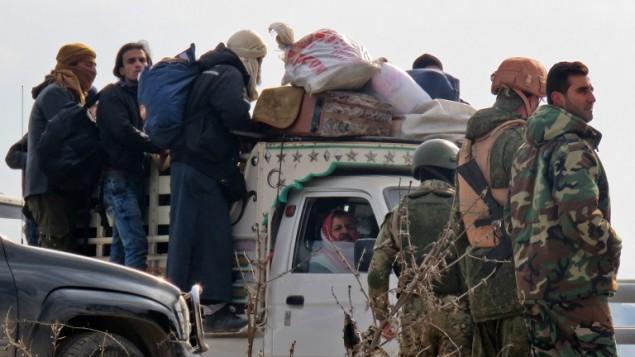 Iran behind Suspension of Aleppo Evacuation