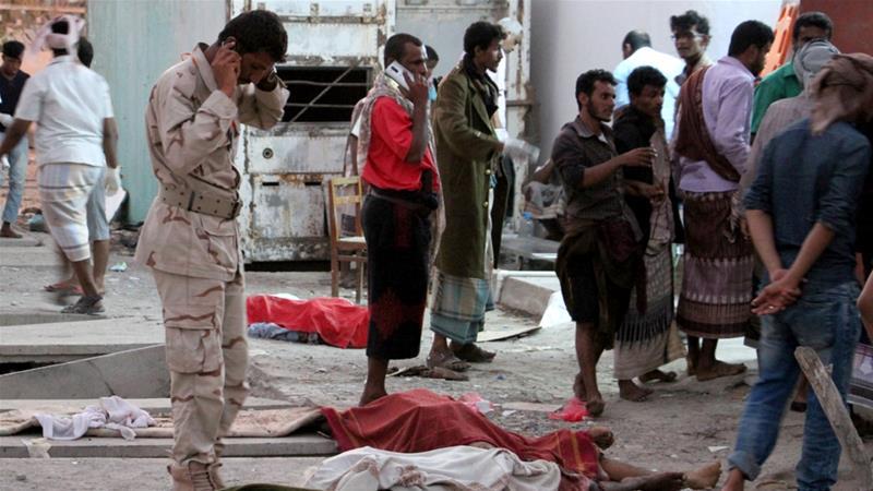 Yemen: Dozens Killed in Aden Bombing
