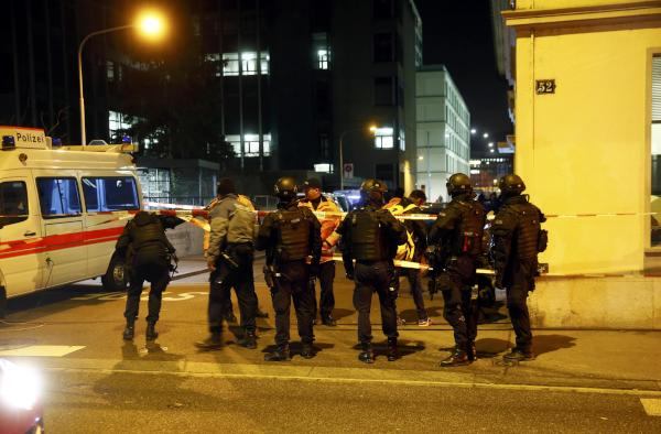Three People Hurt in Shooting near Zurich Islamic Centre