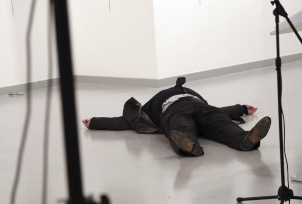 Six Arrested after Russian Ambassador's Killing