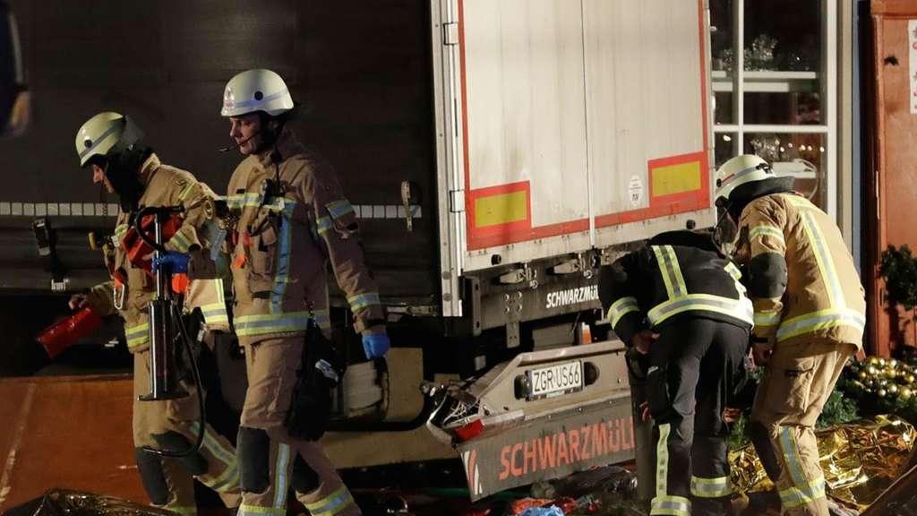 Twelve Dead as Truck Hits Berlin Christmas Market
