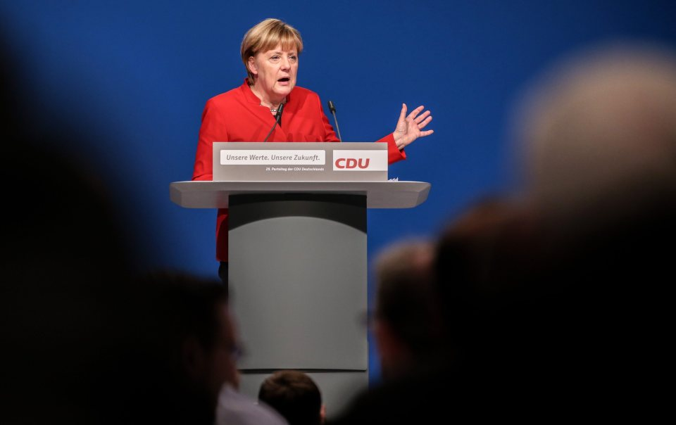 Angela Merkel Fosters Trust within Her Party Members