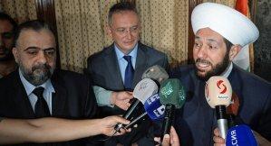 Grand Mufti of Syrian Regime Ahmad Badreddin Hassoun . Reuters