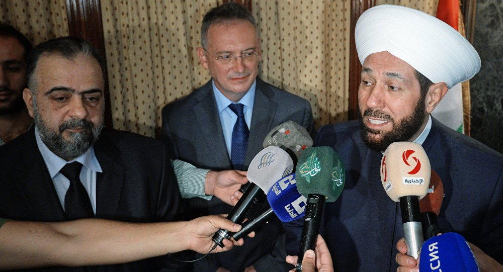 Mufti of Syrian Regime's Visit to Ireland Draws Ire of Opposition Figures