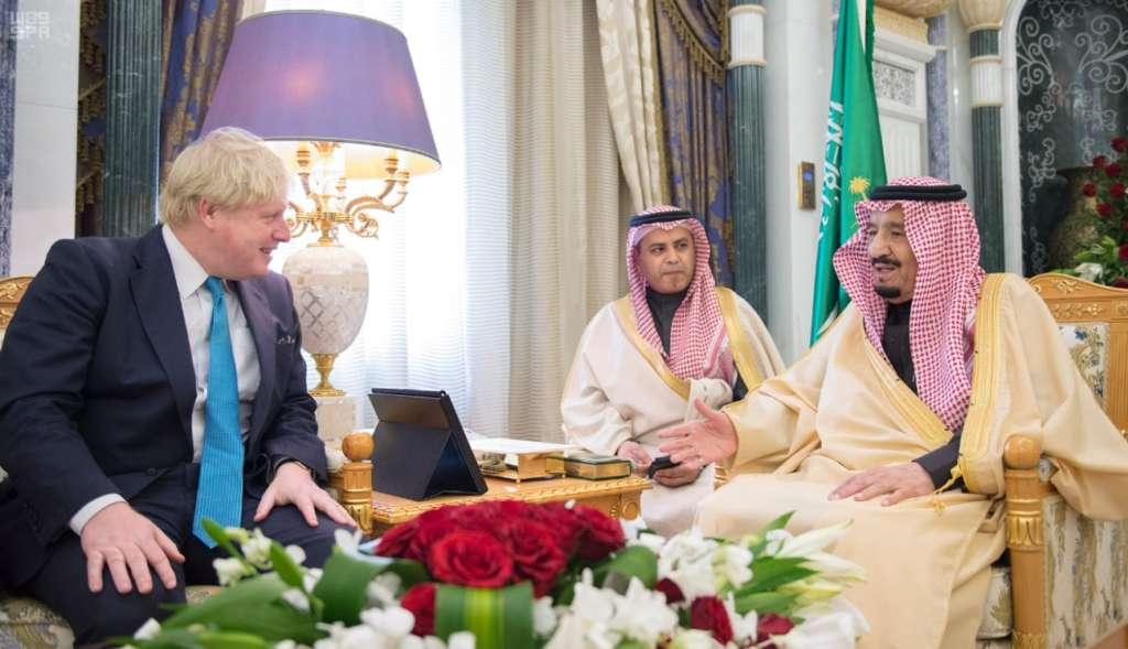 Saudi-British Commitment to Fight Terrorism, Solve Regional Conflicts