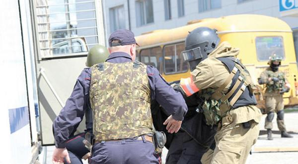 Russian Security Services Arrest 12 People For Promoting Extremism