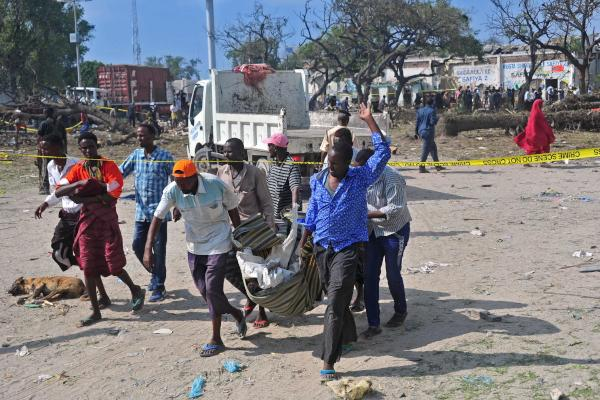 Somalia: 29 Killed and 50 Injured in a Suicide Car Bomb Attack