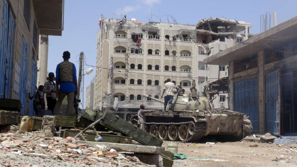 "Insurgency in Sanaa Presents ""War Government"""