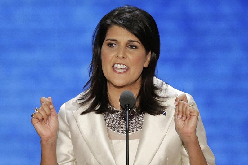 Nikki Haley…Third Woman in Row to Represent U.S. in United Nations