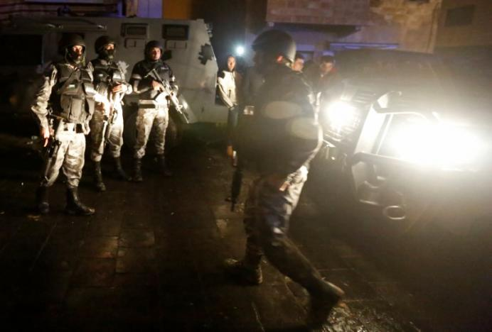 Four Policemen Killed in Clashes with Gunmen near Karak, Jordan
