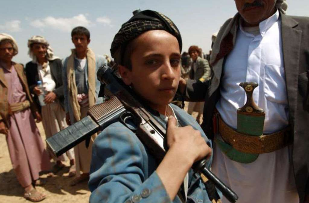 Houthi, Saleh Militias Recruited 40 Children to Fight In Al-Mahweet