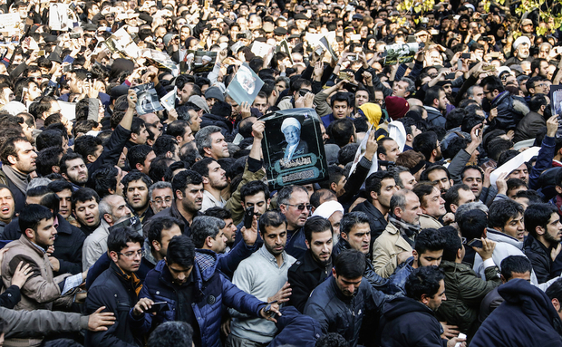 Green Movement Relived at Rafsanjani's Funeral