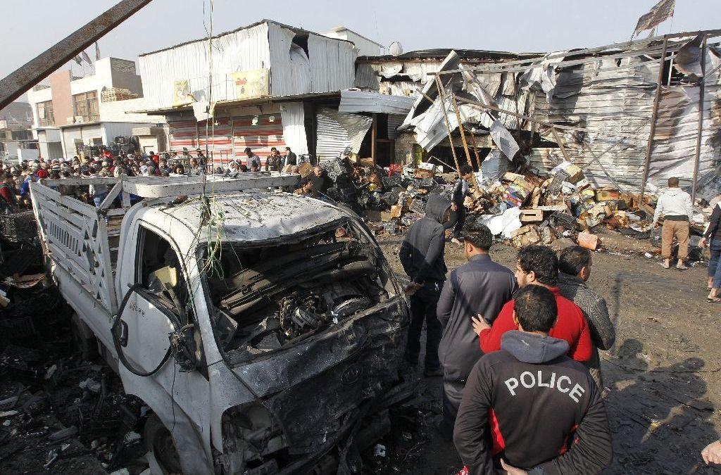 Twin Suicide Attacks Kill Dozens in Baghdad