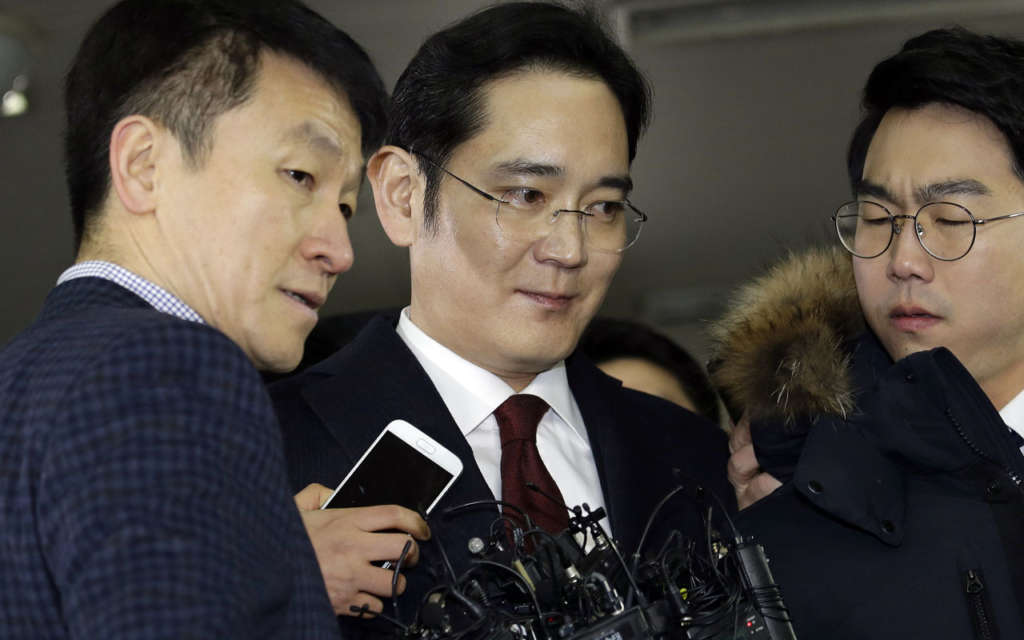Samsung Heir Faces Arrest in Political Corruption Scandal