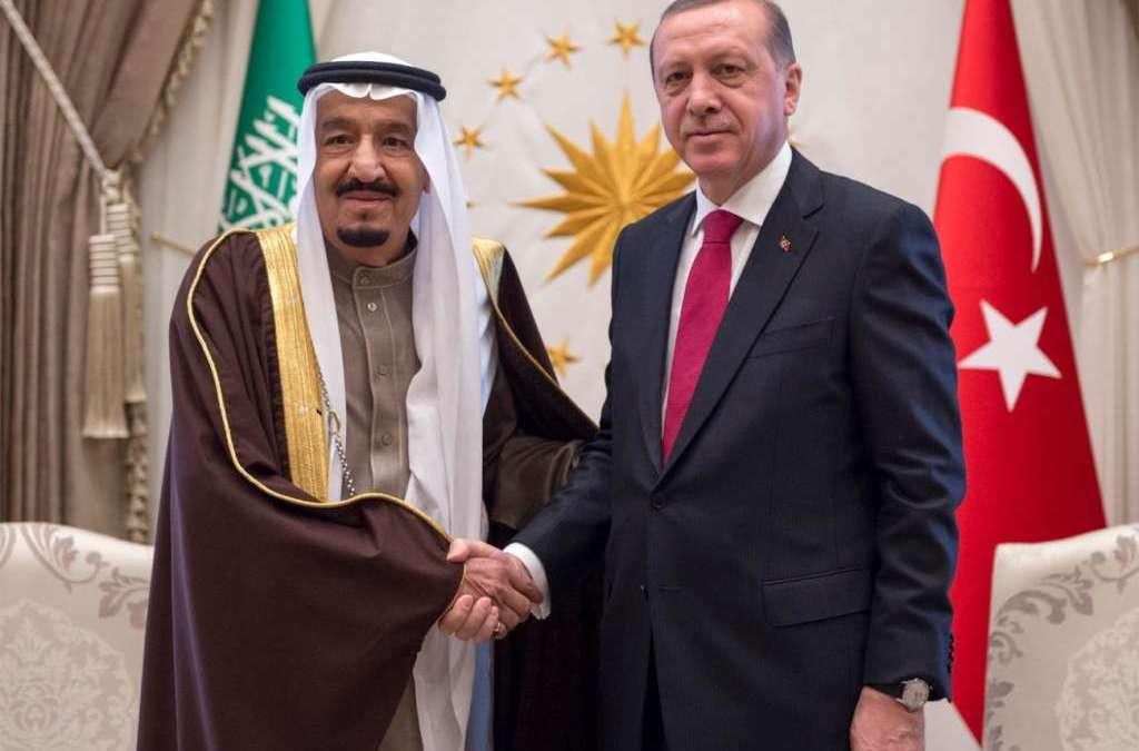 King Salman to Erdogan: 'We Stand with Turkey against Terror'