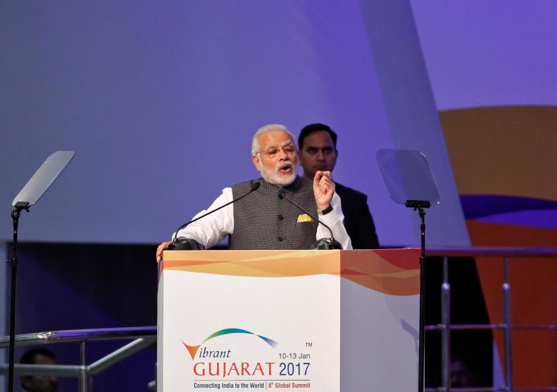 Saudi-Indian Partnerships on Sidelines of Vibrant Gujarat Summit 2017
