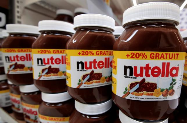 Nutella Maker Fights Back on Palm Oil following Cancer Risk Study