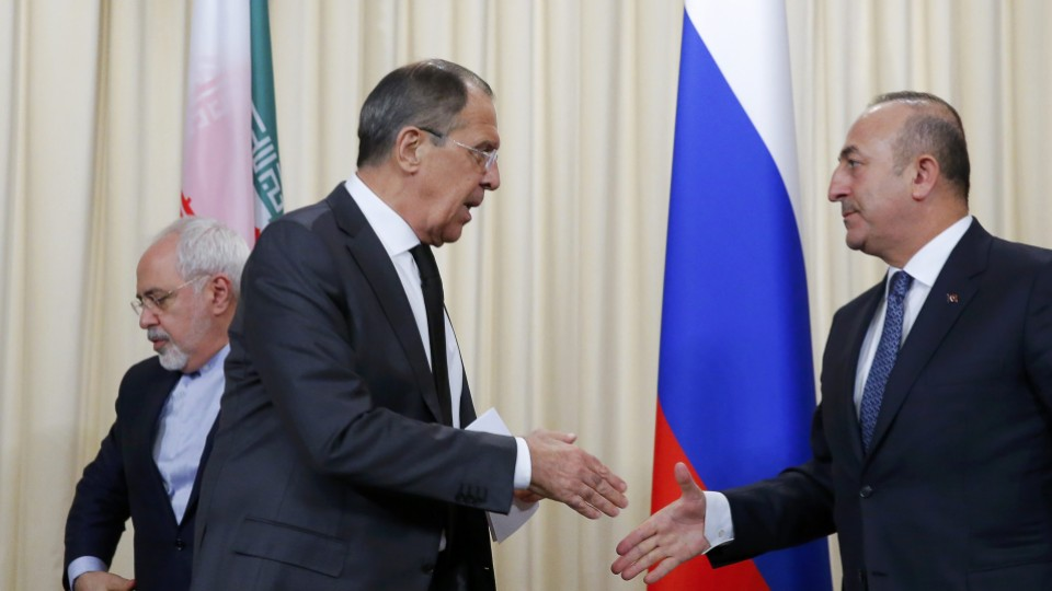 Turkish-Iranian Tension over Russia's Stance before Astana Talks