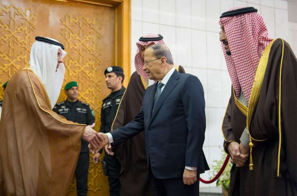 Lebanon President Aoun Visits Saudi Officials to Enhance Bilateral Relations