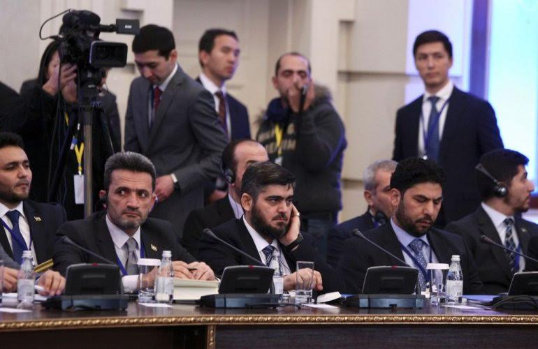 Threats, Leaks at Astana Opening Session