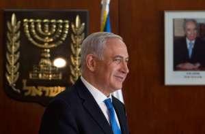 Israel's Prime Minister Benjamin Netanyahu leaves after making a televised statement to Reuters at the Knesset, the Israeli parliament, in Jerusalem November 5, 2012. REUTERS/Baz Ratner (JERUSALEM - Tags: POLITICS)
