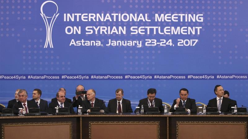 Astana Urges Syrian Parties to Set up Geneva Negotiations