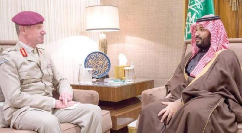 Deputy Crown Prince Holds Talks with Senior British Defense Consultant for the ME
