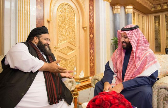 Saudi Deputy Crown Prince Receives Head of Pakistani Ulema Council
