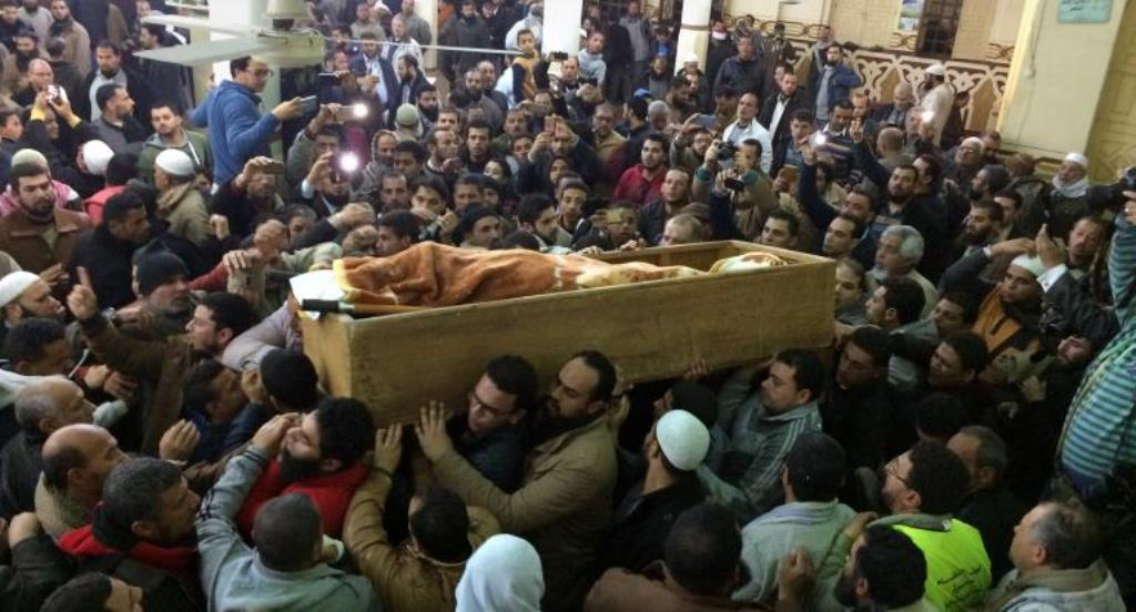 Followers, Relatives of Gamaa Islamiya's Founder Mourn his Death