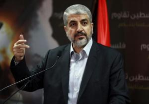 Speaker of Hamas Political bureau Khaled Mashaal.