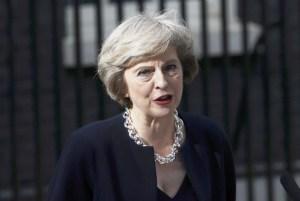 British PM Theresa May (REUTERS)