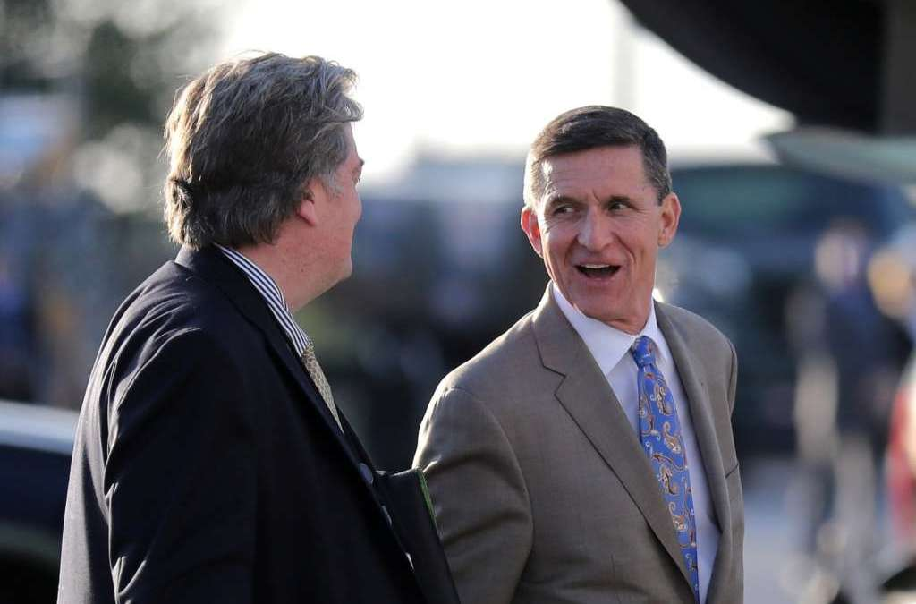 As Flynn Falls under Growing Pressure over Russia Contacts, Trump Remains Silent