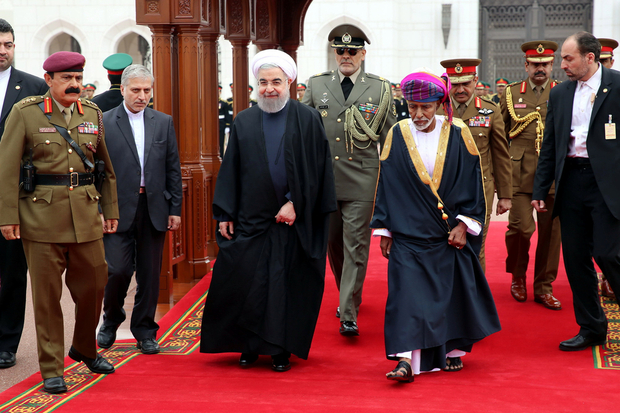 Rouhani in Oman, Kuwait to Ease Tension