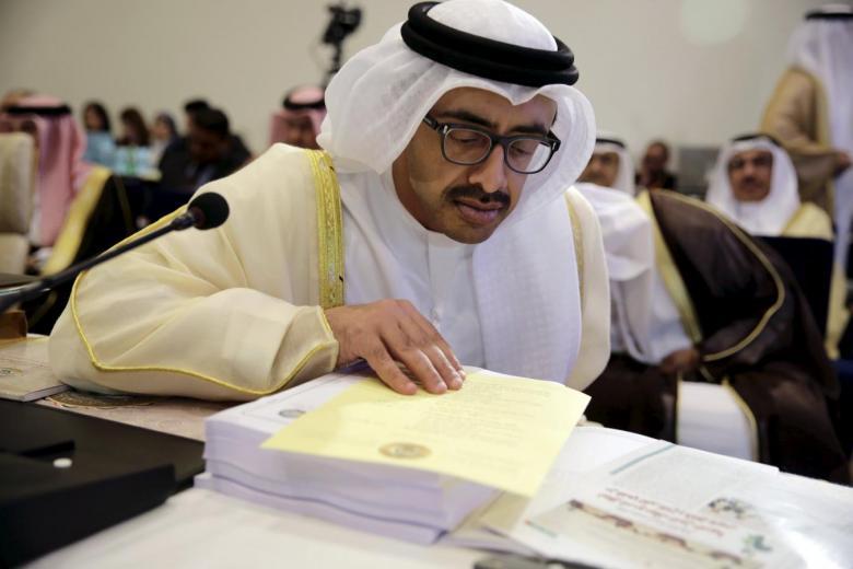 UAE FM Discusses Developments with Jordanian Counterpart