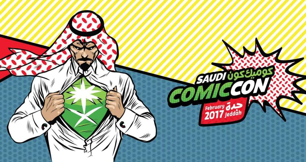 Huge Turnout on First Comic Con in Jeddah