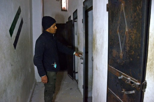 Syria: Writings of Hope and Disappointment on al-Bab Jail Walls