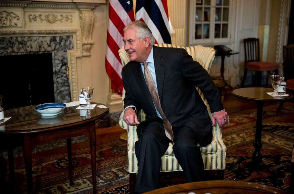 Tillerson Leads From State Dept. Shadows as White House Steps In