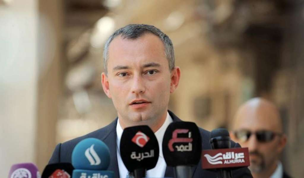 UN Special Coordinator Visits Gaza for Hours