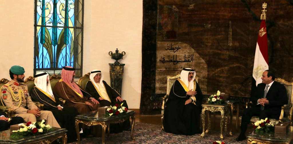 Bahrain, Egypt Leaders Address Coordination