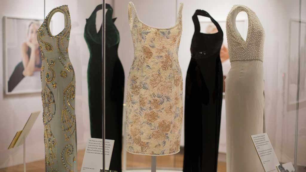 Princess Diana's Dresses Tell her Life Story