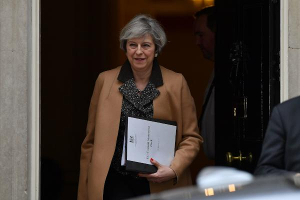 May: UK to Trigger Exit from EU on March 29