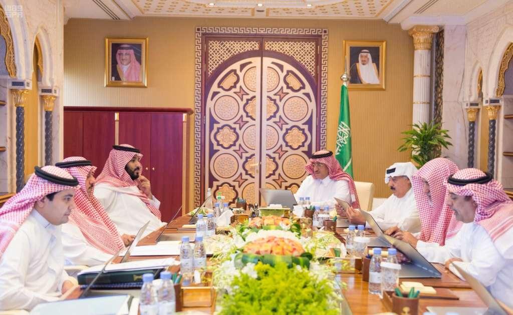 Saudi Crown Prince Chairs 2 Council Meetings
