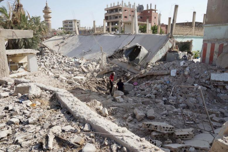 Syria Revolution: A Six-Year Flame Fighting Demographic Change