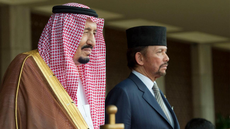 King Salman and Sultan of Brunei Agree to Bolster Relations